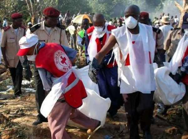 Nigeria Air Crash - Ten Ghanaians Dead