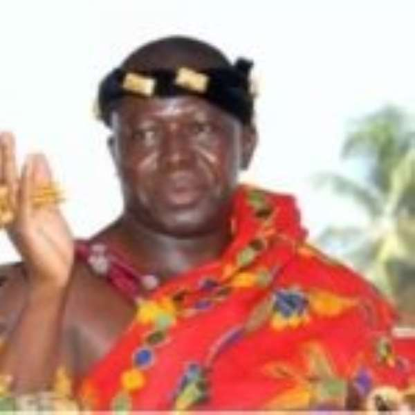 Asantehene Blames BoG For Collapse Of Banks