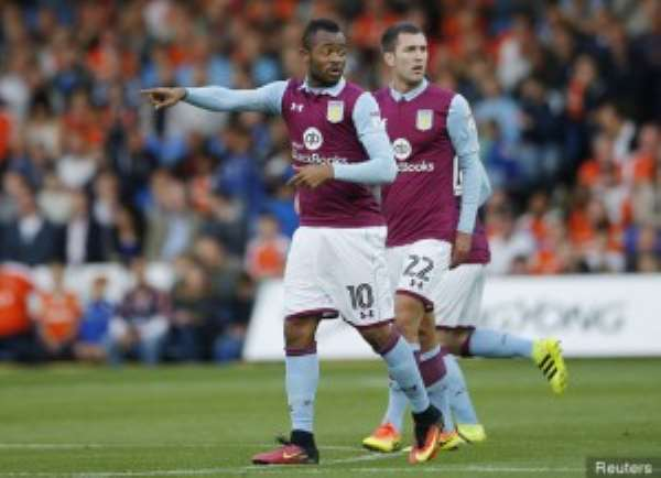 Aston Villa rejected  £11 million offer from Marseille for Ghana striker Jordan Ayew - report