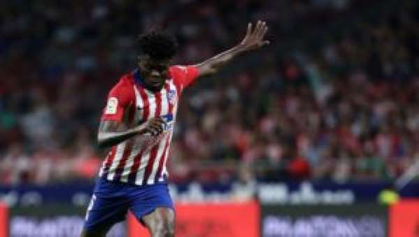 Thomas Partey Is A Real Canyon At Atlético Madrid