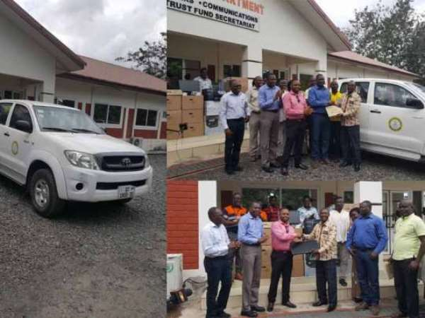 Tarkwa: Two Institutions Donate To Ghana Health Service