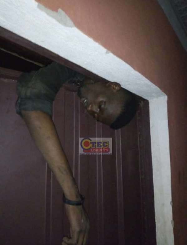 Horror: 'Stubborn' Thief Trapped To Death At Suame [Photos]