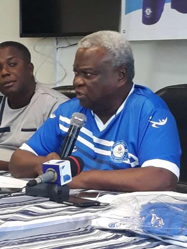 Great Olympics Board Chairman His Excellency Amarkai Amarteifio