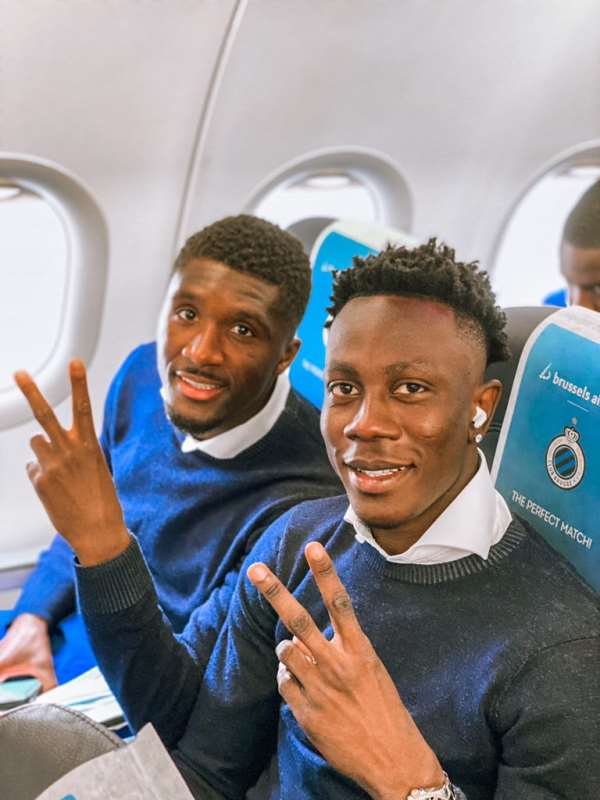 Talented Ghana forward Kamal Sowah named in Club Brugge squad for Champions League tie with RB Leipzig