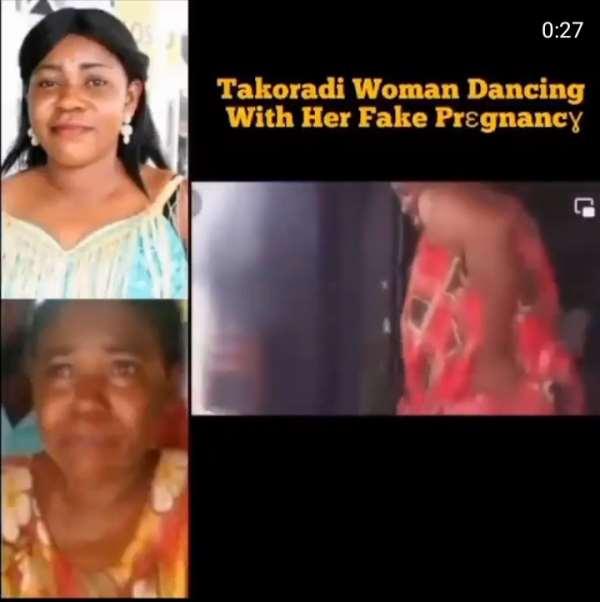 Fake Takoradi pregnant woman twerks in recent video