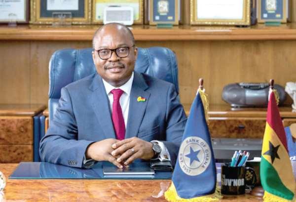 Bank of Ghana Governor Ernest Kwamina Yedu Addison