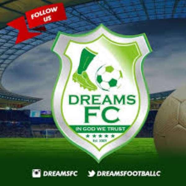 Dreams FC sends solidarity message to Nyantakyi