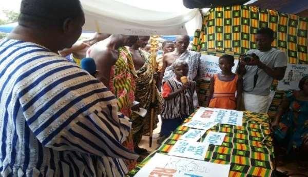 Donkorkrom: Reading Festival Held For Schools
