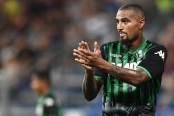 Kevin Prince Boateng Rested For AC Milan Clash