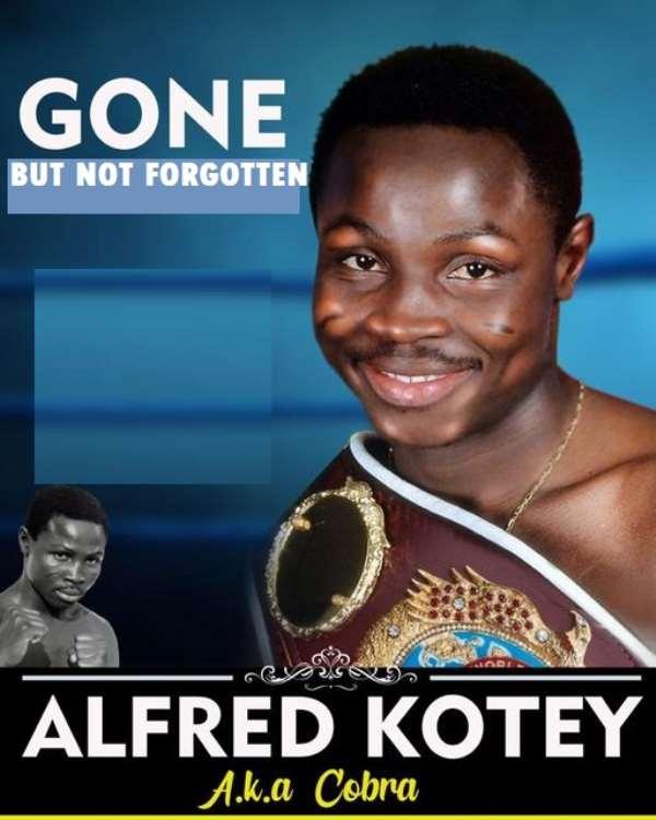 Alfred 'Cobra' Kotey Burial On October 3 In USA