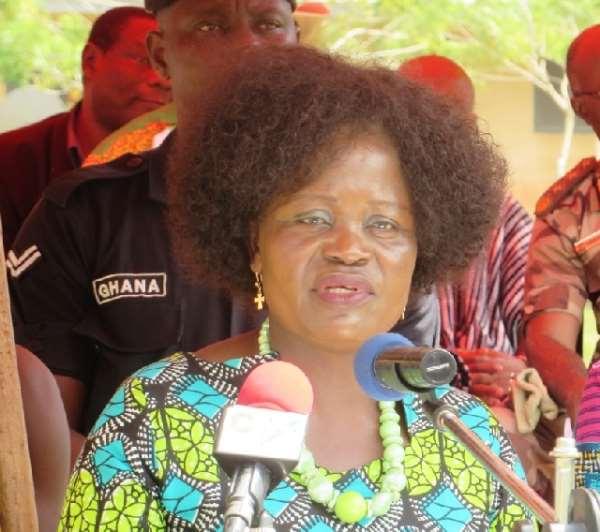 Krachi West MP Helen Ntoso