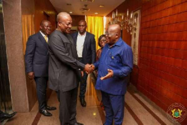Mahama Is Inconsistent; He Can't Be Trusted — Akufo-Addo