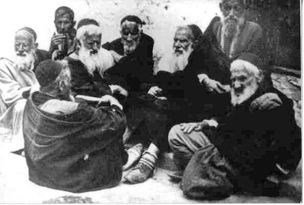 Moroccan Jewish People In Essaouira Mogador (Public Domain)