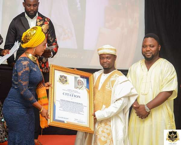 National Chief Imam Named Ultimate Icon At The Ghana Actors And Entertainers Awards 2019