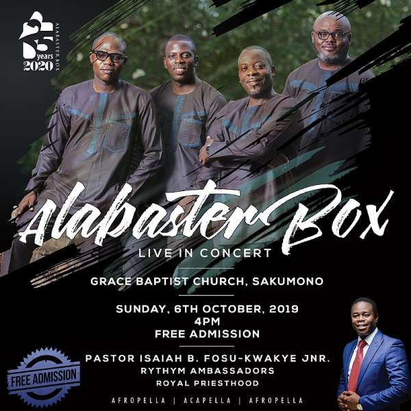 All Set For Alabaster Box Live In Concert