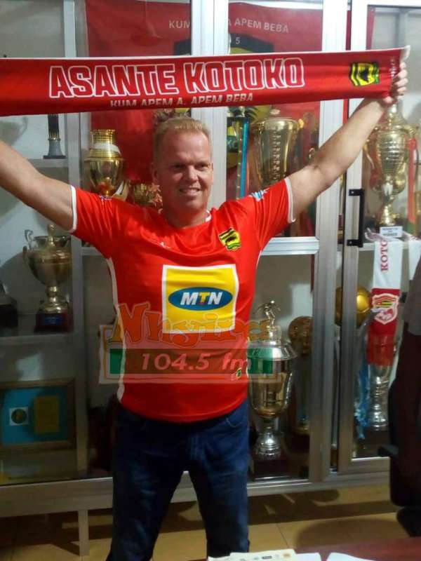 CAF CL: Dr. Amo Sarpong Disappointed With Kjetil Zachariassen's Performance With Kotoko