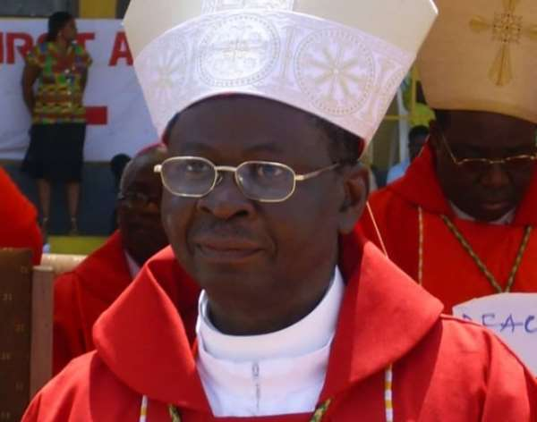 President of the Ghana Catholic Bishops Conference, Most Rev. Philip Naameh