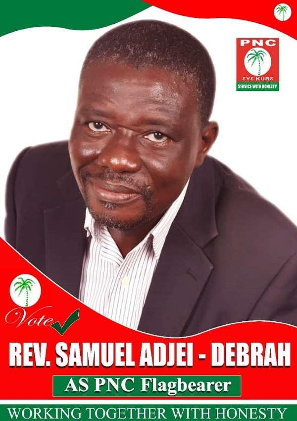 PNC 2020 Congress: Flagbearer Hopeful Rev. Adjei-Debrah Confident Of Victory