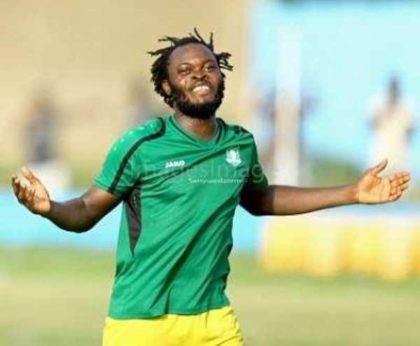 Aduana Stars striker Yahaya Mohammed