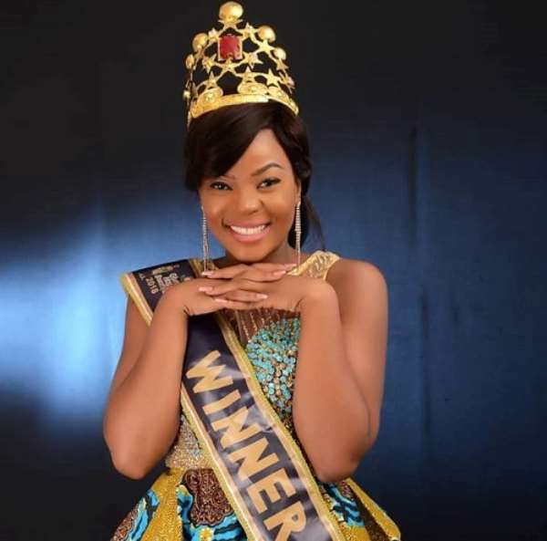 Ghana's Most Beautiful Winner Calls On Tourism Minister