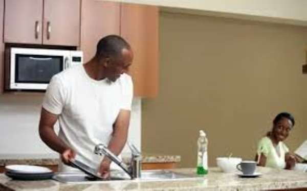 Men Who Do House Chores Are Better Business Managers – Dr Charles Krampah