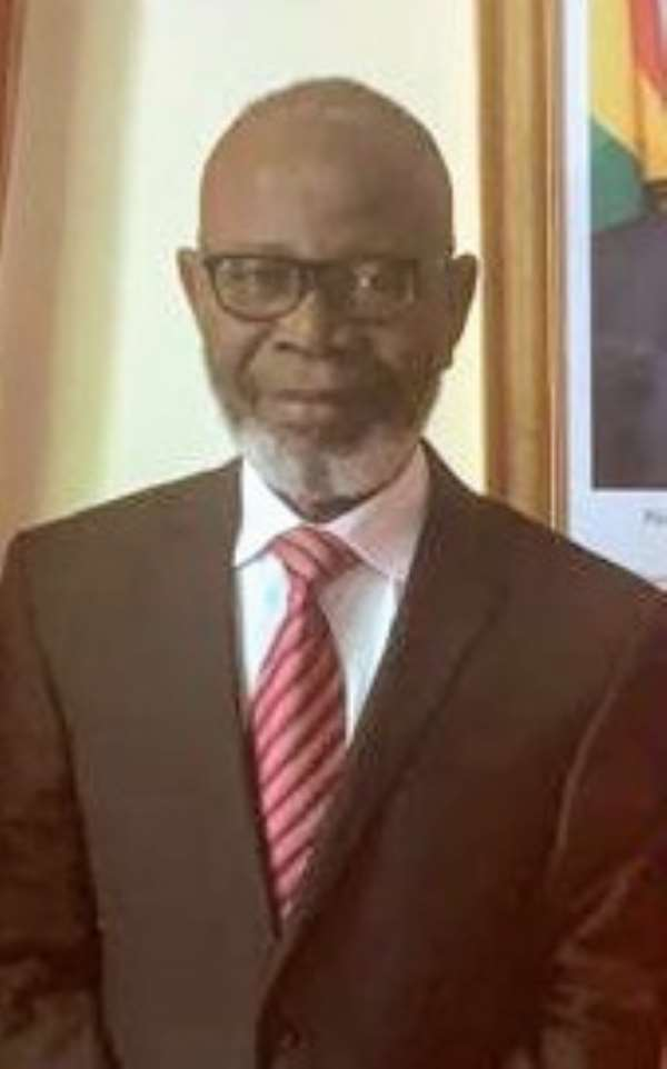 His Excellency George Ayisi - Boateng