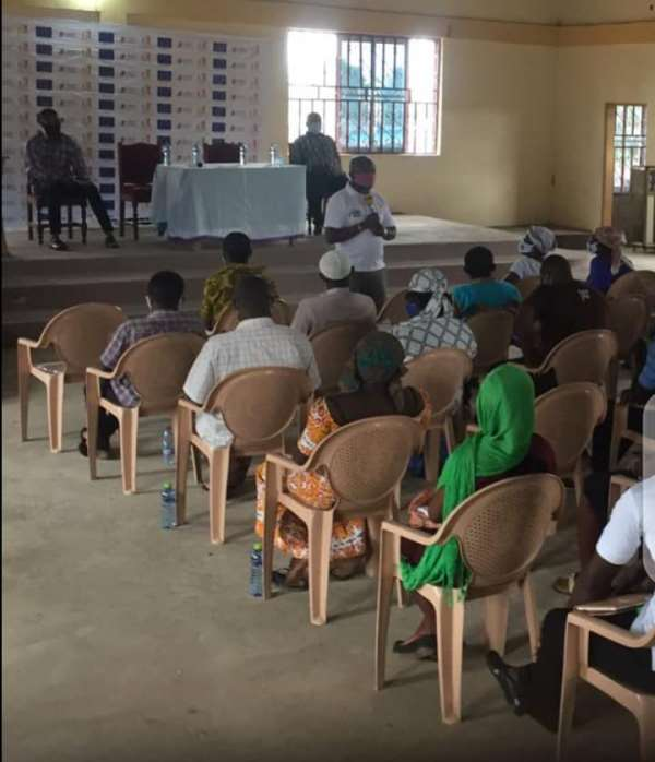 NCCE Organises Social Auditing Programme At Domeabra Electoral Area