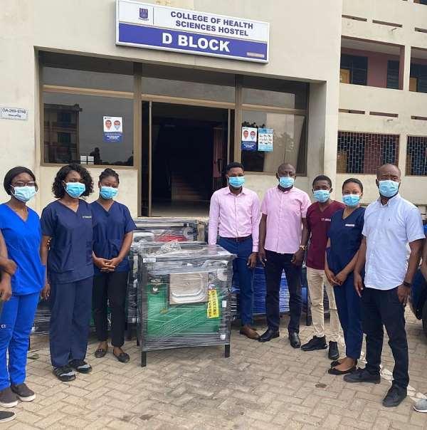 Ibrahim Mahama Donates Ultra-Modern Handwashing Machines To Institutions And Universities