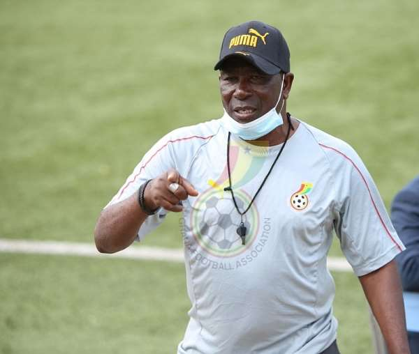 Ghana U-20 head coach Karim Zito
