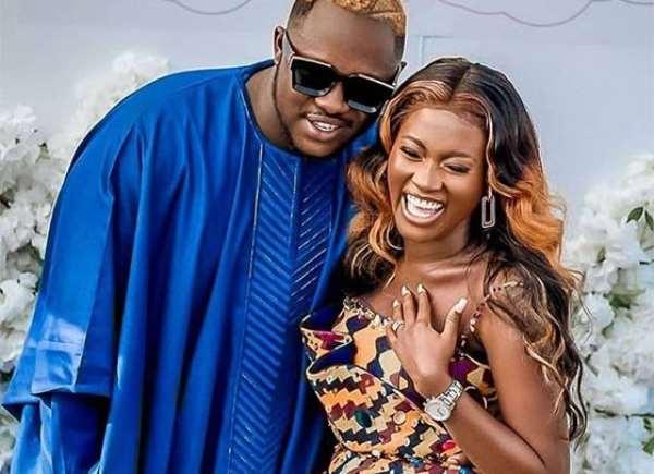 Rapper Medikal reveals where he met his wife Fela Makafui
