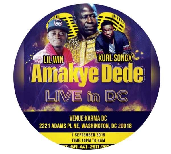 "2019 US Tour of Legendary Ghanaian vocalist Abrantie Amakye Dede, aka ""Iron Boy"""
