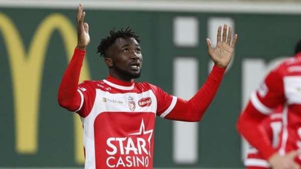 Ghanaian forward Jonah Osabutey