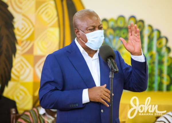 Akufo-Addo Has Borrowed GHS140bn In 3/half Years But Has Nothing To Show For It – Mahama