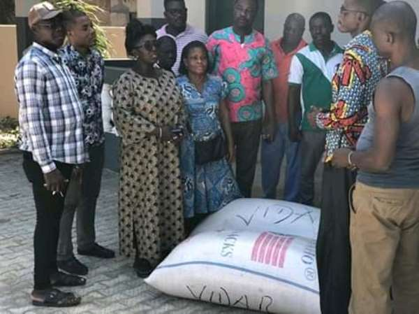 Ketu South: Dzifa Gomashie Donates To Households Hit By Tidal Wave