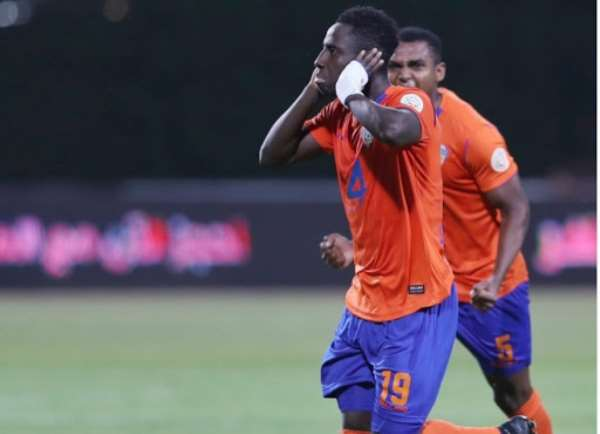 Ghana Forward Samuel Owusu Scores To Help Al-Fayha Defeat Al Adalh 2-0