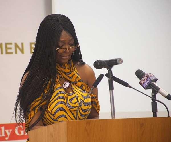 Mrs Nana Sekyere Addresses The Summit