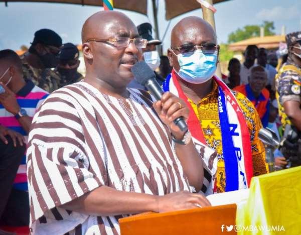 'Akyem Sakawa': We'll Continue Asking Mahama To Apologise Unreservedly – Bawumia