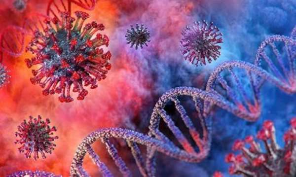 Coronavirus illustration photo