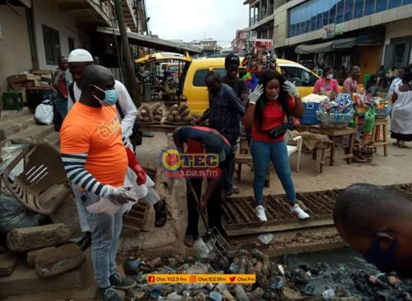 A/R: Asafo Assemblyman Fights Malaria With Monthly Clean Up Exercise