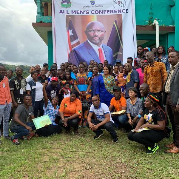 Gender Ends All Men's Conference In Tubmanburg, Bomi County
