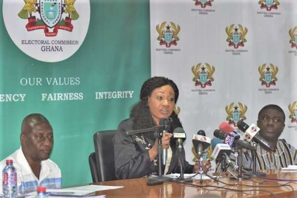 Electoral Commission Announces Exhibition Of Provisional Voters Register Begins September 18th