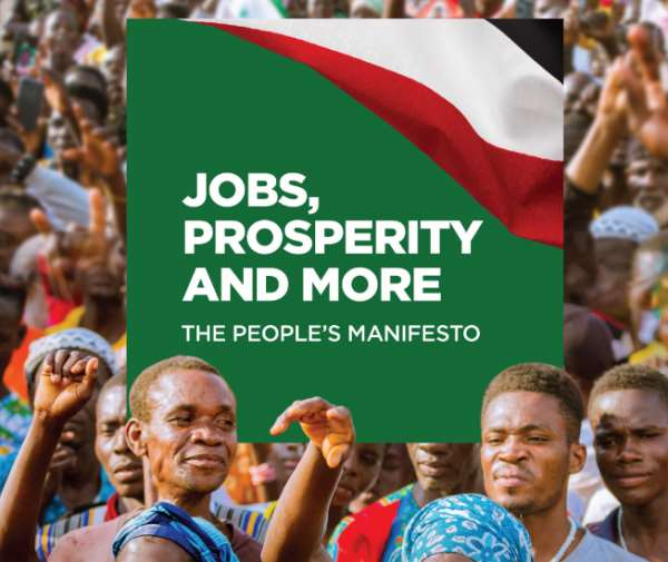 Check Key Highlights In NDC's Peoples Manifesto