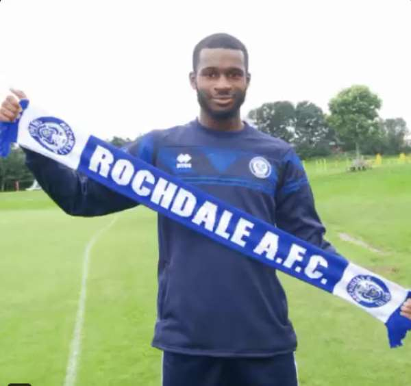 Delighted Yeboah Amankwah Eager For Start Of New Season After Joining Rochdale A.F.C.