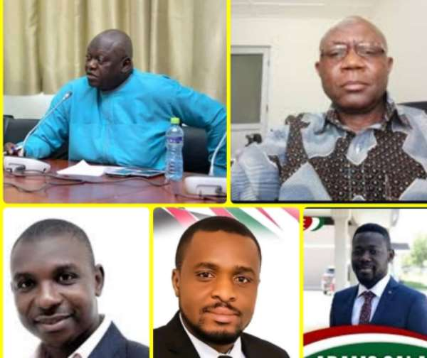 The Bissa 5: Meet The Five Bissa Men Contesting 2020 Parliamentary Seats