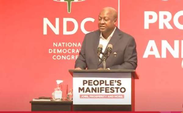 NDC Flagbearer Mr. John Dramani Mahama