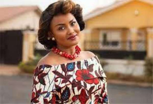 Latest pictures of Nana Ama Mcbrown shows she is well