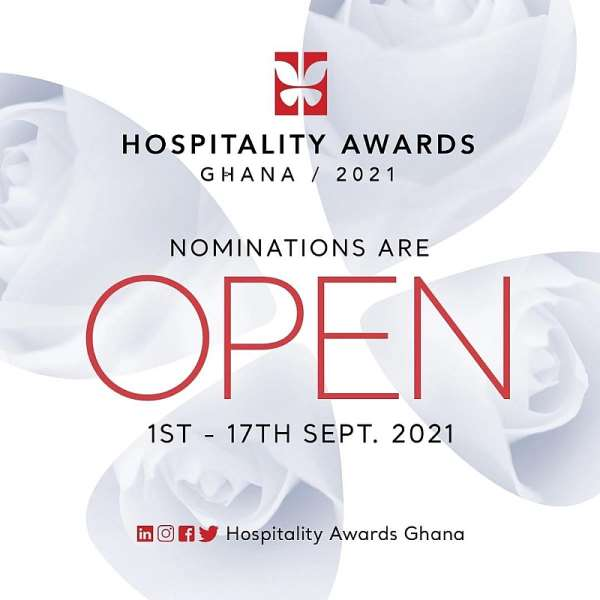 Hospitality Awards Ghana calls for nominations for 2021 edition