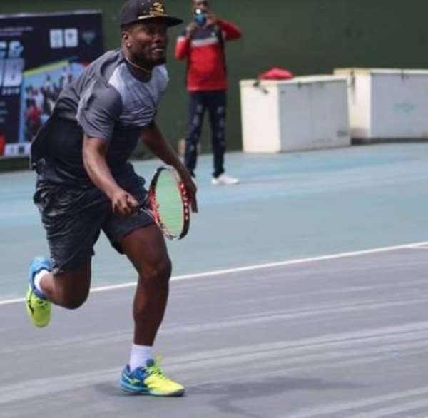 Asamoah Gyan And Tennis: A Budding Working Relationship