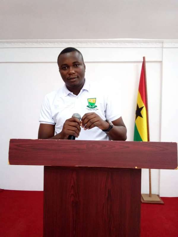 SRC President for the Evangelical Presbyterian University College, Mr. Faisel Abdul-Iddrisu