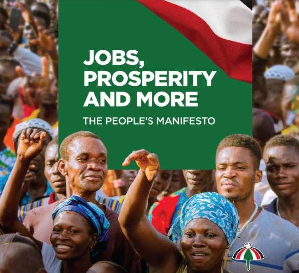 My Thoughts On NDC Manifesto